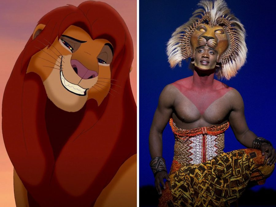 Lion King split - Walt Disney Studios - photo - Joan Marcus - 9/16