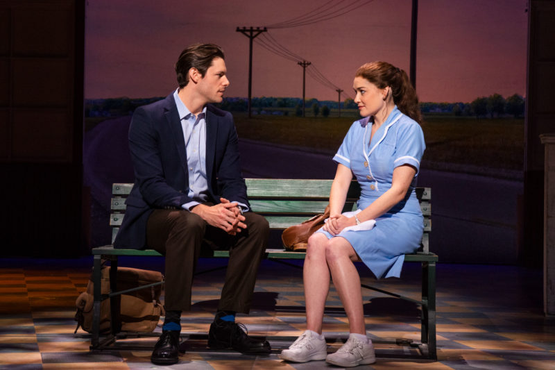 Steven Good and Christine Dwyer in the tour of Waitress Credit Philicia Endelman DSC_1277