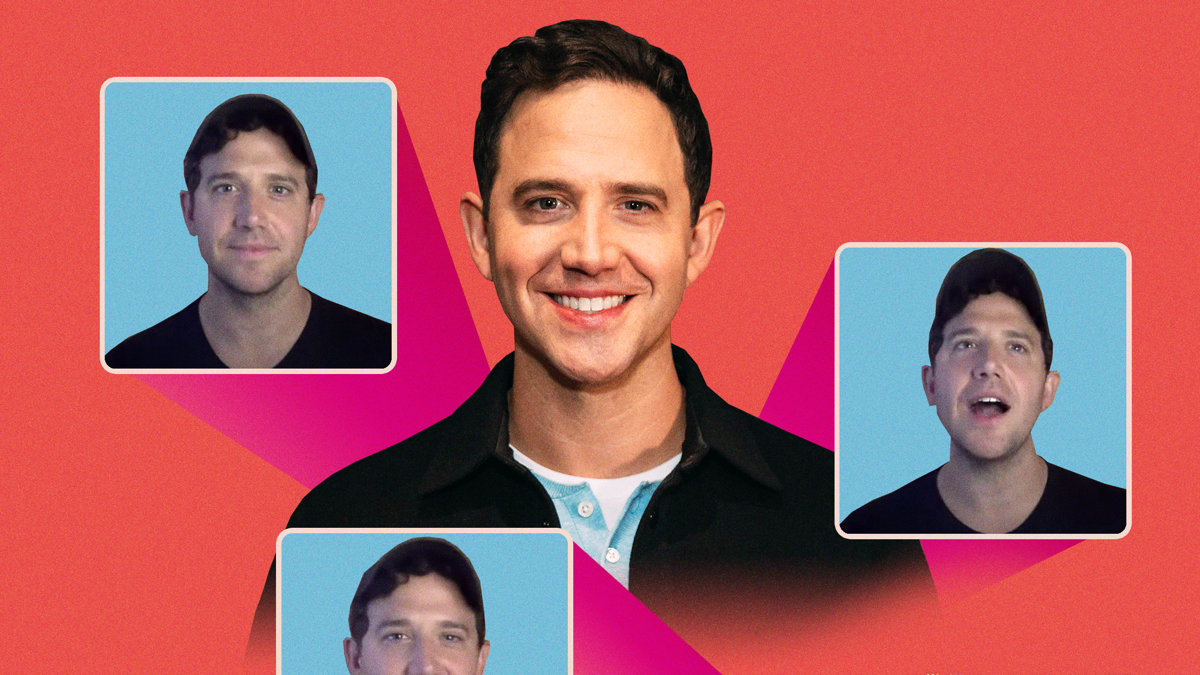 Live at Five Home Edition - Santino Fontana - 8/20 - Emilio Madrid/Ryan Casey
