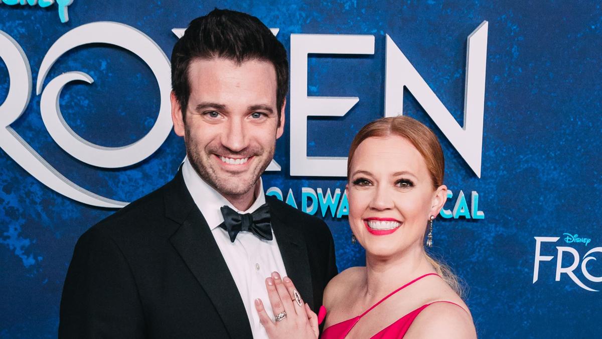 OP-Patti-Murin-Colin-Donnell-Frozen Opening-3/18-Emilio-Madrid-Kuser