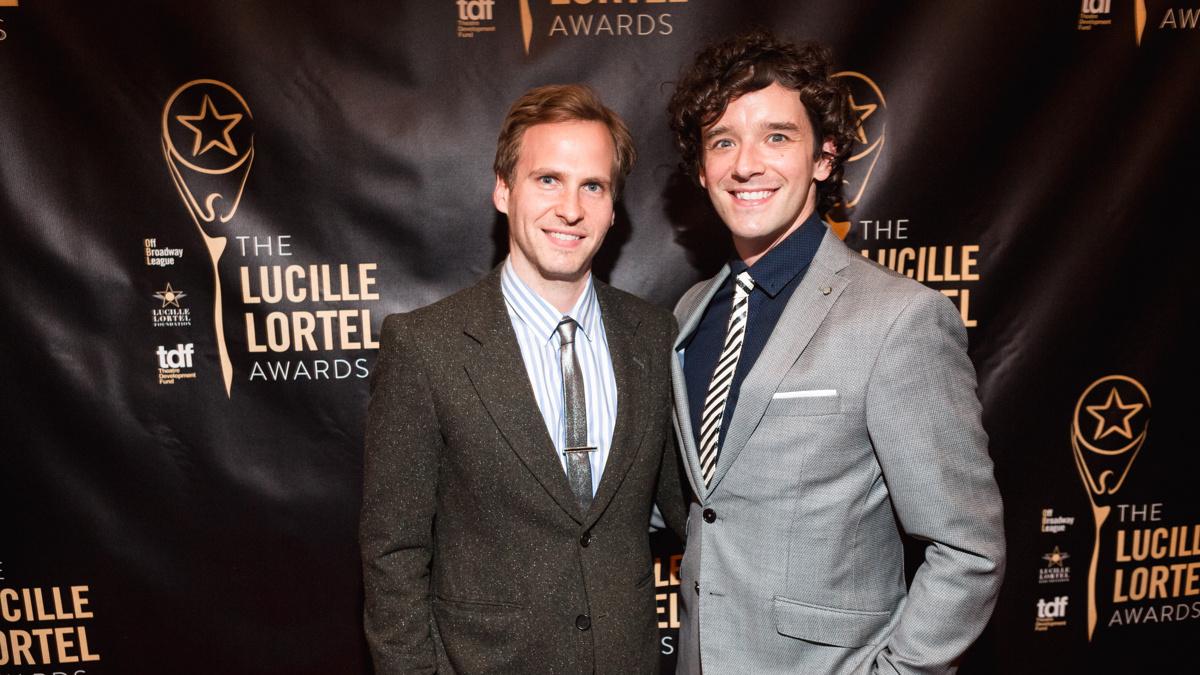 Lortel Awards - Ryan Spahn - Michael Urie - 5/16 - EMK